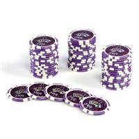 50 Poker-Chips Wert 500 Laserchip 12g Metallkern OCEAN-CHAMPION-CHIP abgerundet