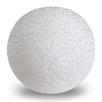 Leuchtkugel LED weiß Ø 8cm Batterie Kunststoff Kugelleuchte Kugellampe Dekokugel