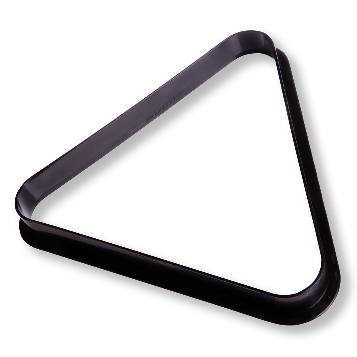 Billard Snooker Pool Dreieck Triangel aus Kunststoff Billardtisch schwarz