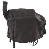 Schutzhülle für Smoker Abdeckung Wetterschutz Plane Grillhaube 120g PVC 130 x 60