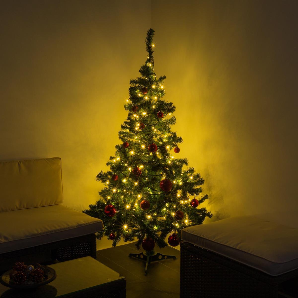 Künstlicher Weihnachtsbaum 3 Meter.Künstlicher Weihnachtsbaum 150 Cm Mit Ständer Und 200 Led