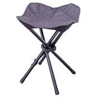 Sitzhocker Falthocker klappbar schwarz für Camping Angeln Wandern