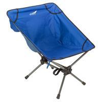 Campingsessel Campingstuhl Moonchair Angelsitz blau 58x56 cm Polyester Stahl