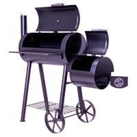 Smoker BBQ Grill Grillwagen Standgrill Holzkohlegrill XL 28 kg 120 x 60 cm