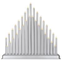 Stimmungsleuchte 33 LED warm weiß Batterie Timer Dekoleuchte Lichterbogen