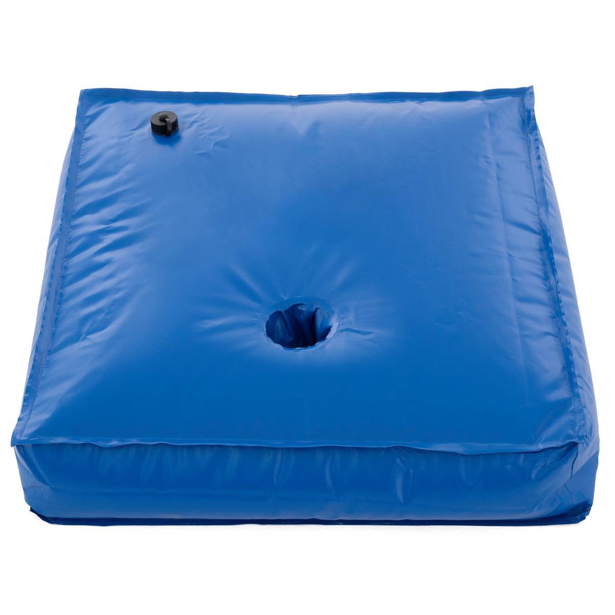 Gewicht für Ampelschirm mit Wasser befüllbar 78 Liter blau eckig 75x75cm