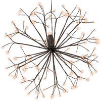 120 LED Meteorstern warm weiß 30 cm Trafo Timer Zweige Stern zum Aufhängen