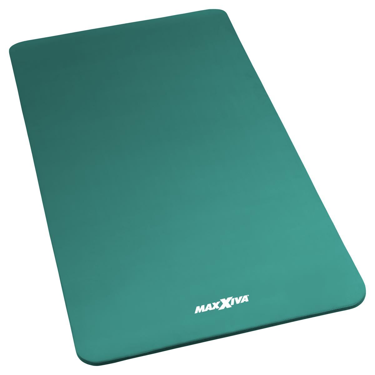MAXXIVA Yogamatte Gymnastikmatte Fitnessmatte 190x100x1,5 cm petrol schadstofffrei