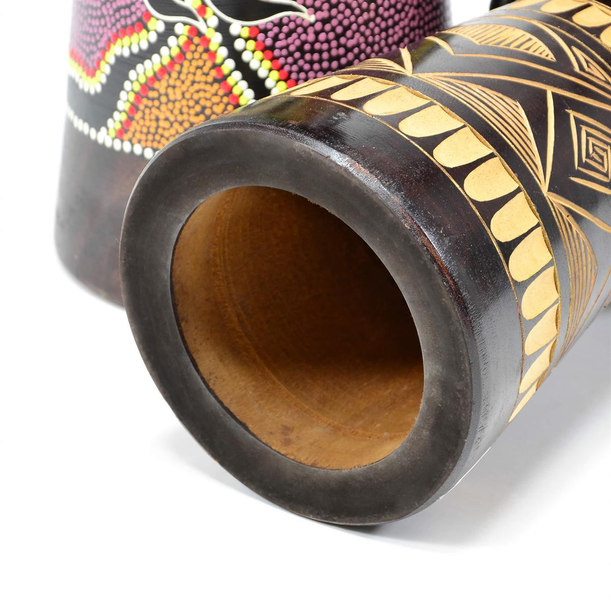 Djembe 50cm Trommel Bali geschnitzt Afrika Bongo Drum Handarbeit