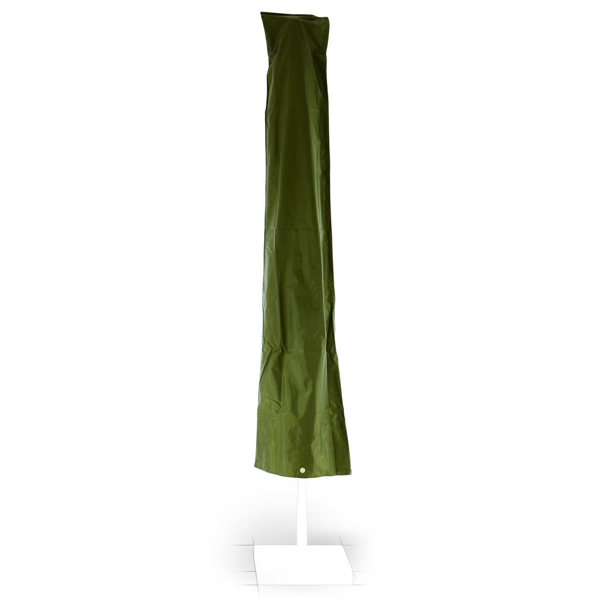 Schutzhülle für Sonnenschirm Ø 3m Grün Wetterschutz Polyester 1,70m