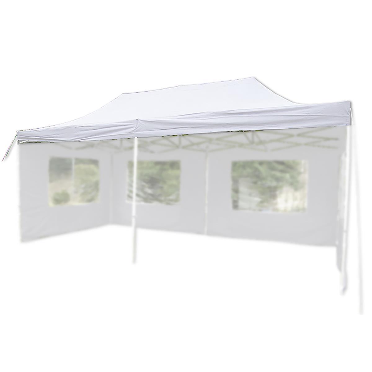Ersatzdach für PROFI Falt Pavillon 3x6m weiß wasserdicht Dachplane Pavillondach