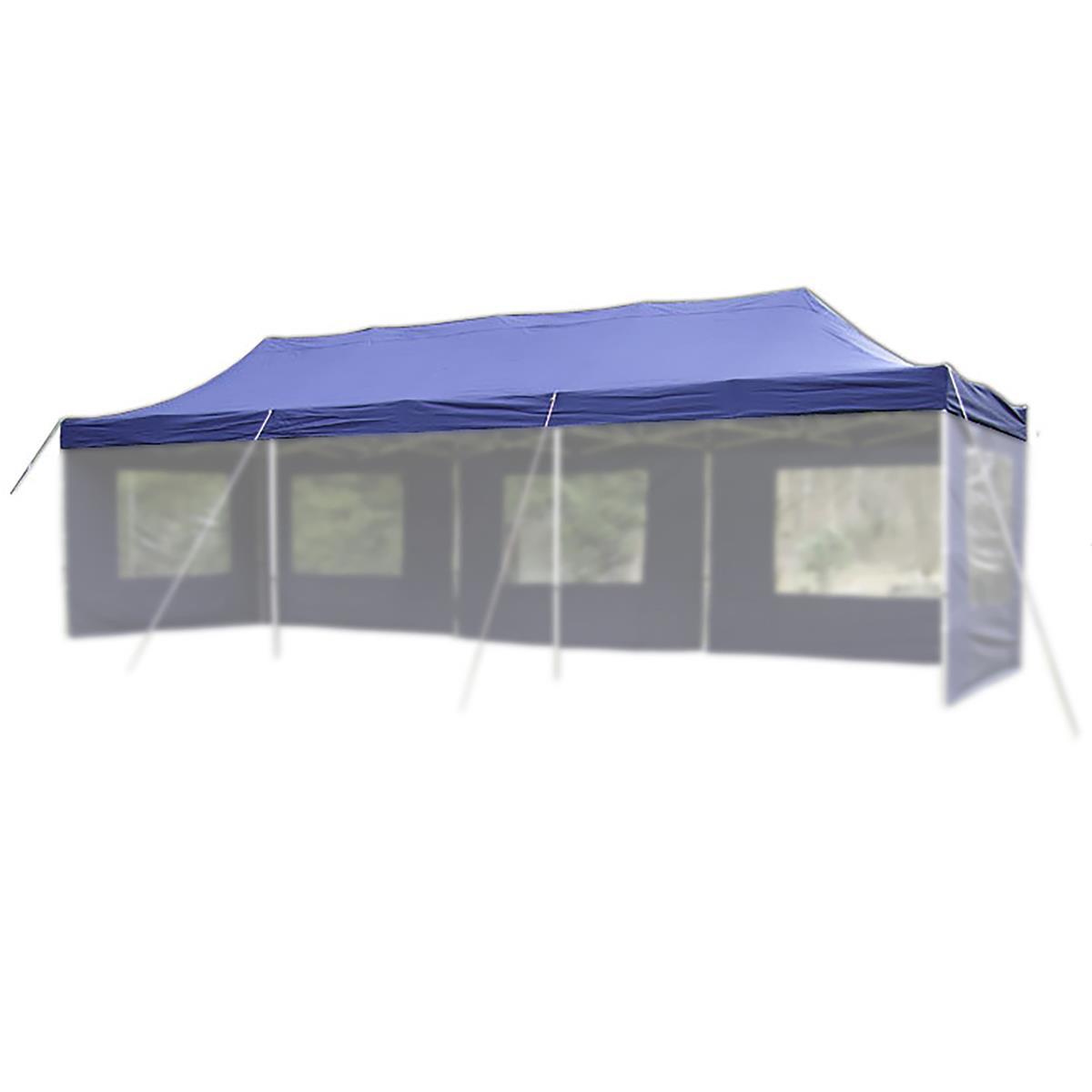 Ersatzdach für PROFI Falt Pavillon 3x9m blau wasserdicht Dachplane Pavillondach