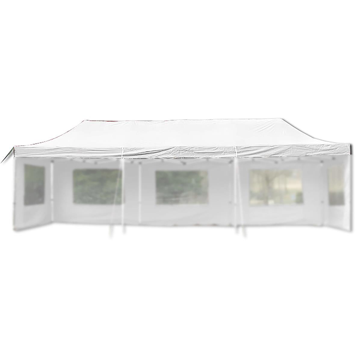 Ersatzdach für PROFI Falt Pavillon 3x9m weiß wasserdicht Dachplane Pavillondach