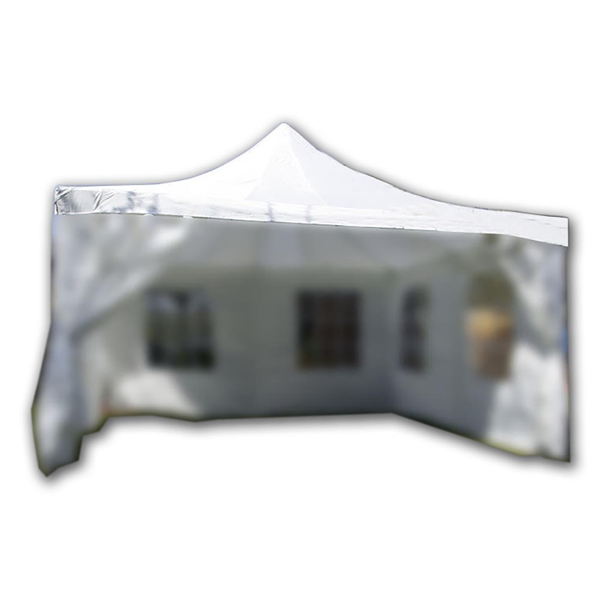 Ersatzdach für Partyzelt Pavillon 4 x 4m weiß, PE mit PVC-Coating wasserdicht