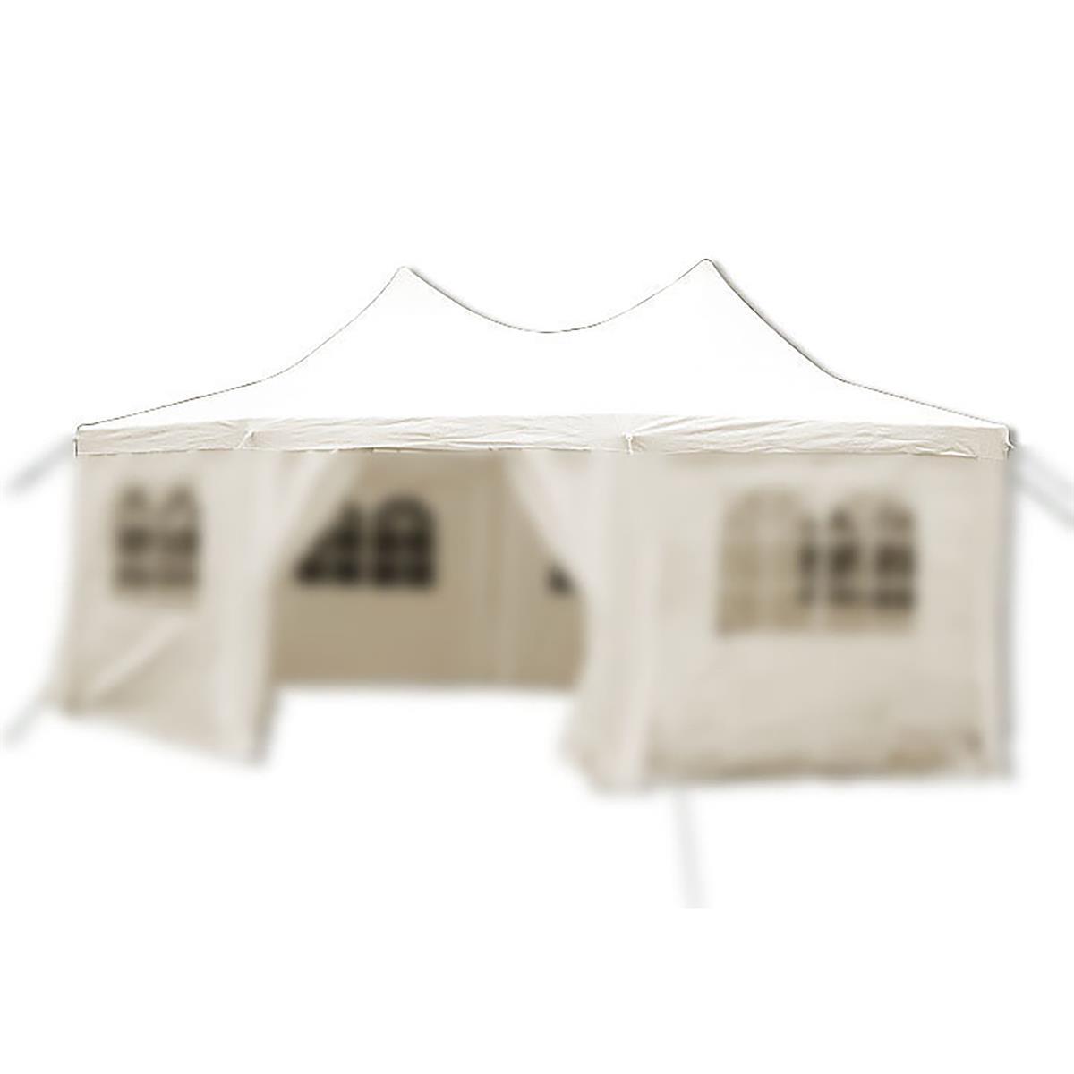 Ersatzdach creme für Pavillon Partyzelt  6 x 4,4 x 3,3m