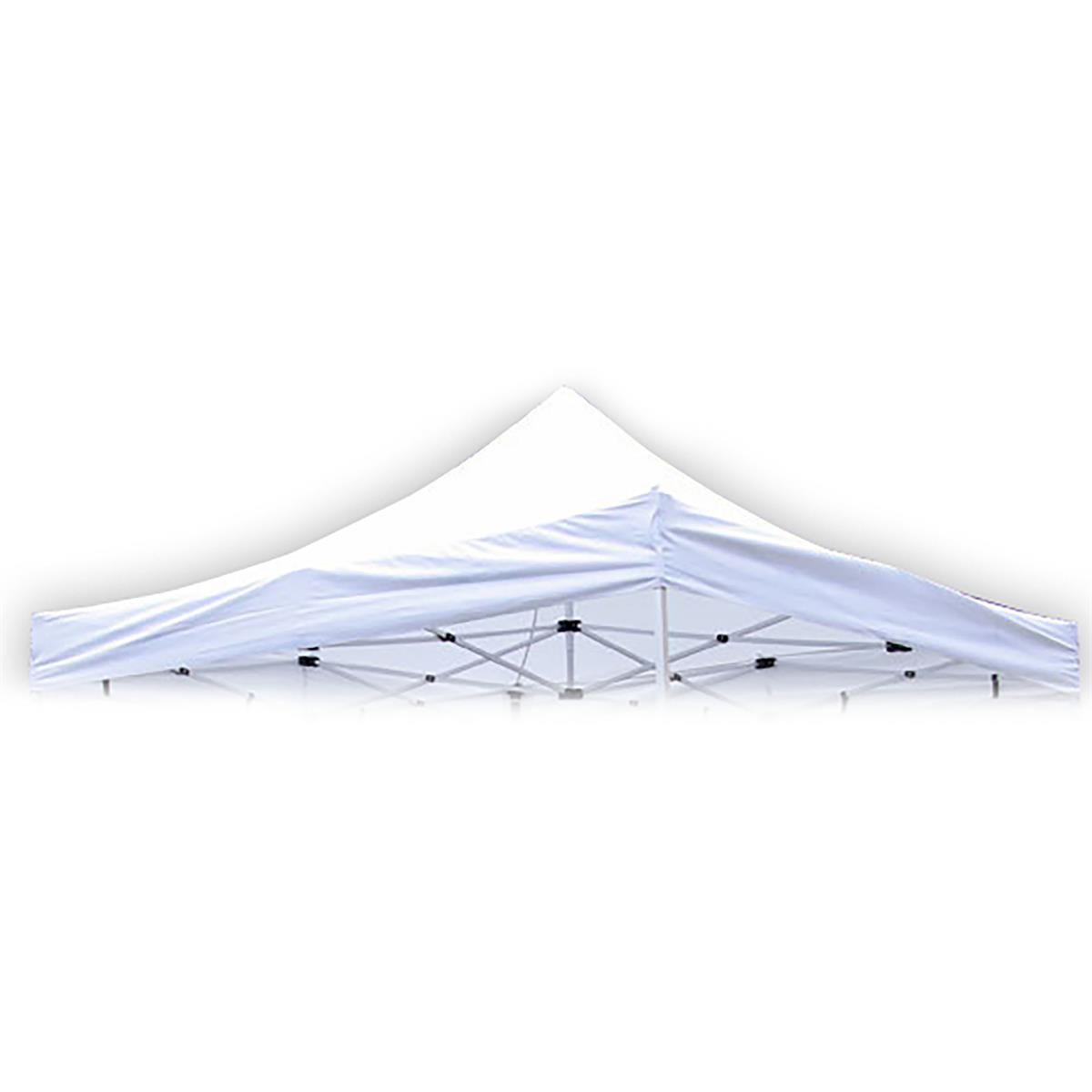 Ersatzdach für PROFI Falt Pavillon 3x3m weiß wasserdicht Dachplane Pavillondach