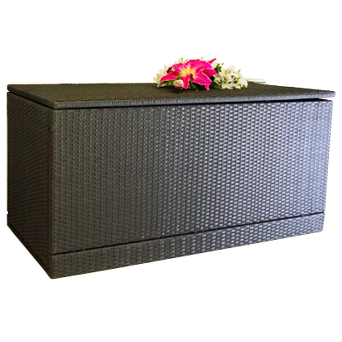 Wäschebox Kissenbox Wäschetruhe Truhe Box Rattanbox Rattan Auflagenbox