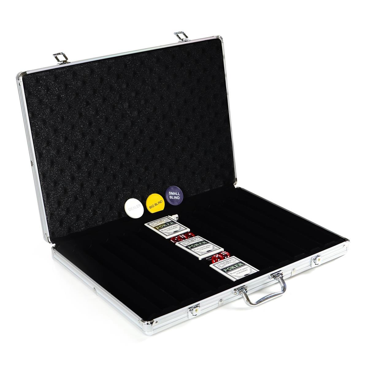 Poker Chip Aufteilung