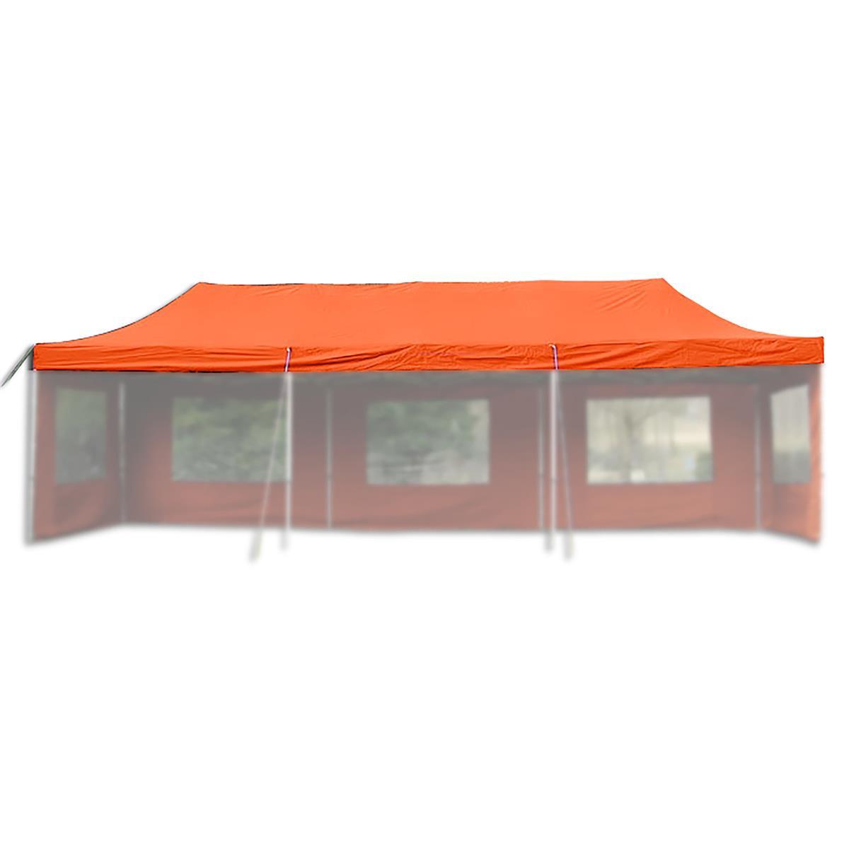 Ersatzdach für PROFI Falt Pavillon 3x9m terracotta wasserdicht Dachplane