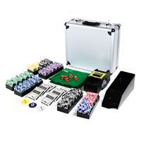 Pokerkoffer Deluxe 600 OCEAN CHAMPION CHIP abgerundete Laser Pokerchips Pokerset