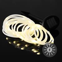 50 LED Solar Lichterschlauch 5m Lichterkette warm weiß