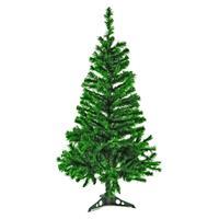 künstlicher Weihnachtsbaum grün Christbaum 120 cm mit Ständer Christmastree XMAS