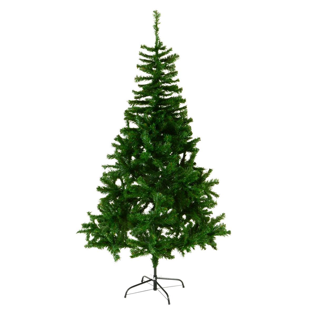 künstlicher Weihnachtsbaum Christbaum Tanne 180 cm 673 Spitzen mit Ständer XMAS