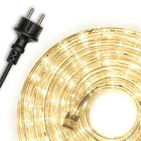 20m LED Lichtschlauch Lichterschlauch warm-weiß Innen Außen Weihnachten