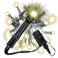 diLED 40er LED Lichterkette Starterset warmweiß erweiterbar Lichtkette System