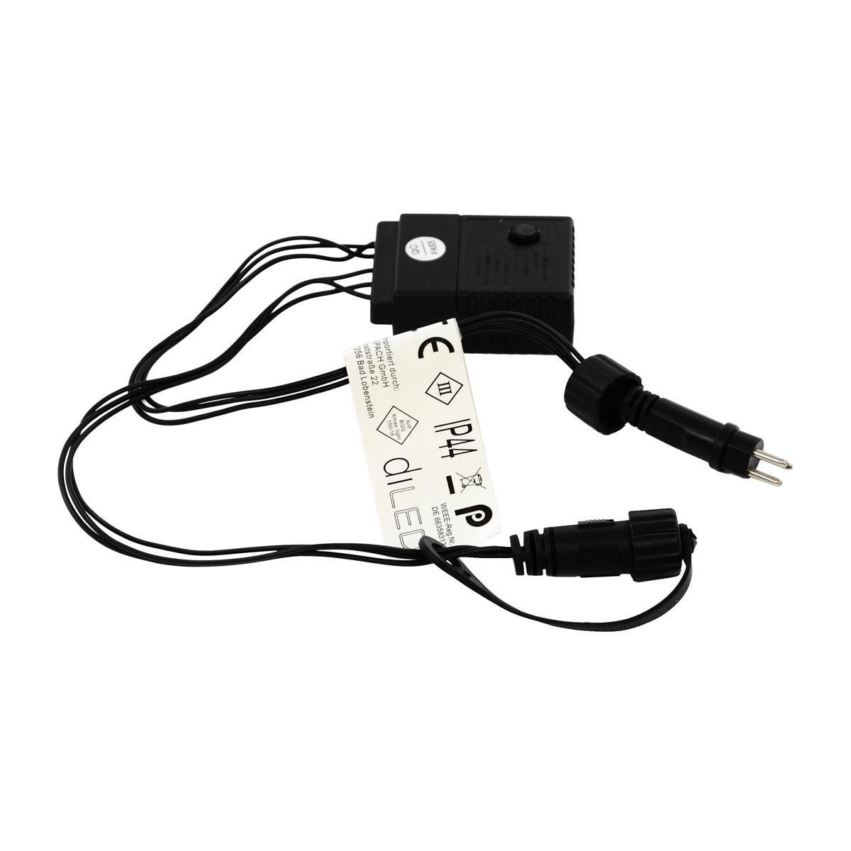 diLED Controller mit acht verschiedenen Leuchtmodi für Lichterketten Weihnacht