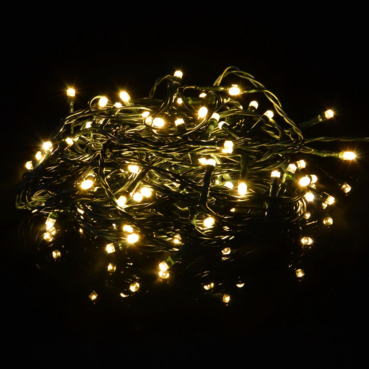 Weihnachtsbeleuchtung Lichterketten Led.35er Led Lichterkette Warm Weiß Partybeleuchtung