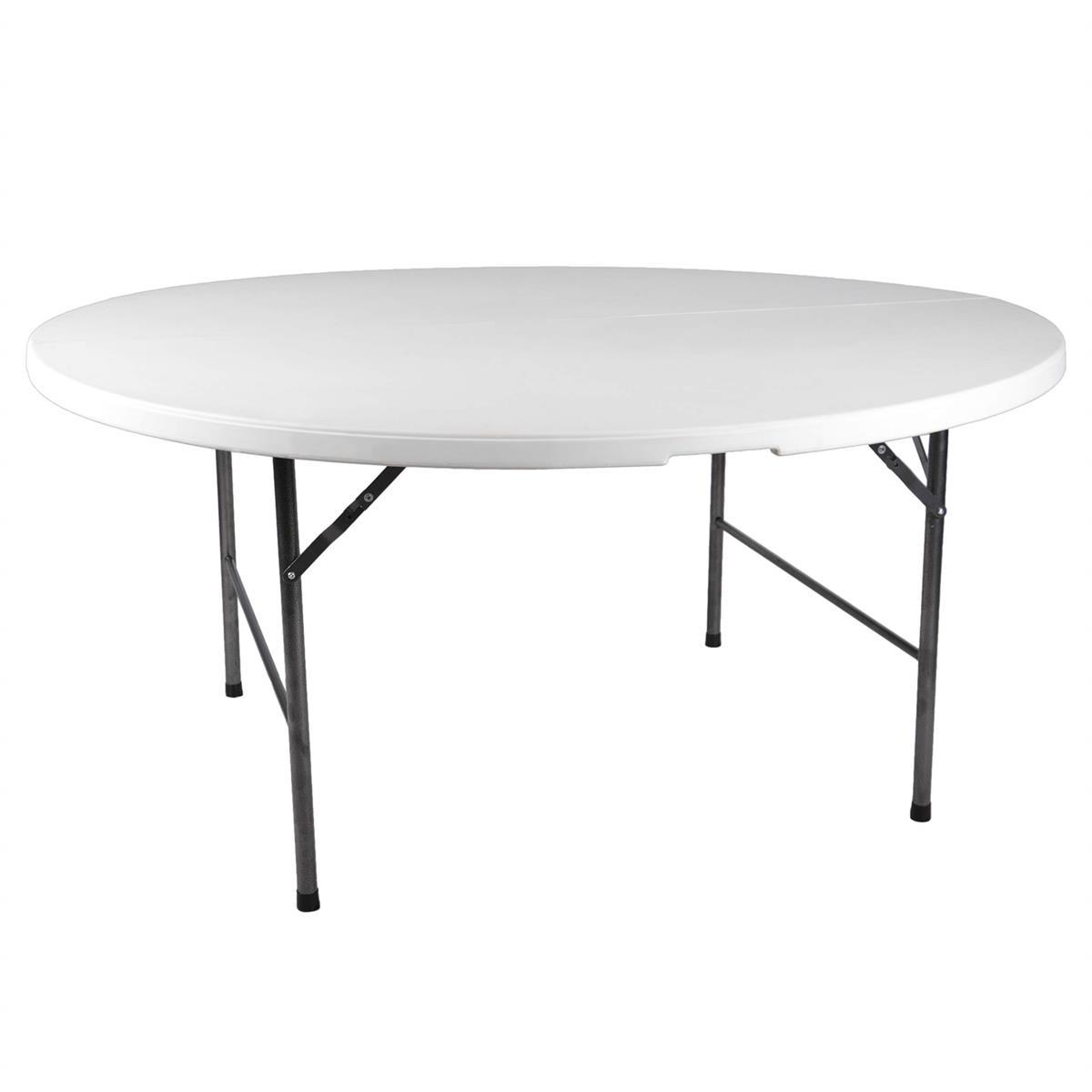 Partytisch Tisch Rund Gartentisch Klappbar 160 Cm