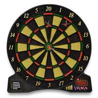 Elektronische Dartscheibe Dartboard 6 Dartpfeile Ø43 cm 5 Spiele Dartautomat