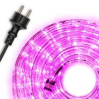 Lichtschlauch LED 10 m 240 LED pink rosa Lichterkette Partybeleuchtung