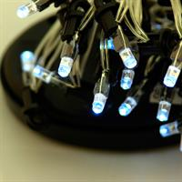 24 LED Solar Lichterkette 3,80m Pavillonbeleuchtung kaltweiß