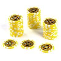 50 Poker-Chips Wert 1000 Laserchip 12g Metallkern ergänzend zum Pokerkoffer