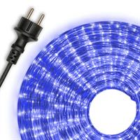 Lichtschlauch Lichterschlauch blau 10m Lichterkette Weihnachtsbeleuchtung Xmas