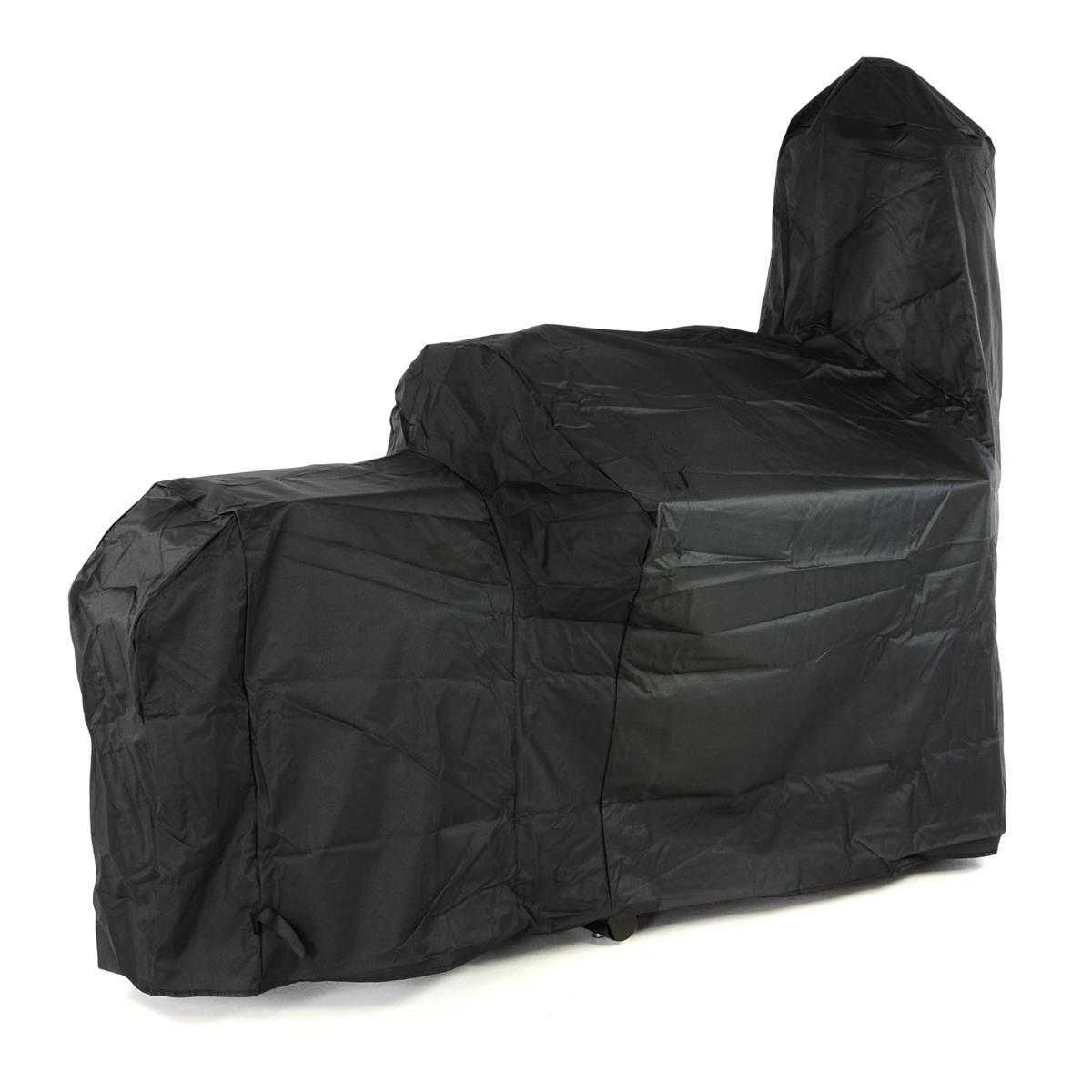 Schutzhülle für Smoker Wetterschutz Plane Cover 500x300D/PVC schwarz 212x172 cm