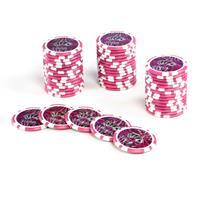 50 Poker-Chips Wert 5000 Laserchip 12g Metallkern OCEAN-CHAMPION-CHIP abgerundet