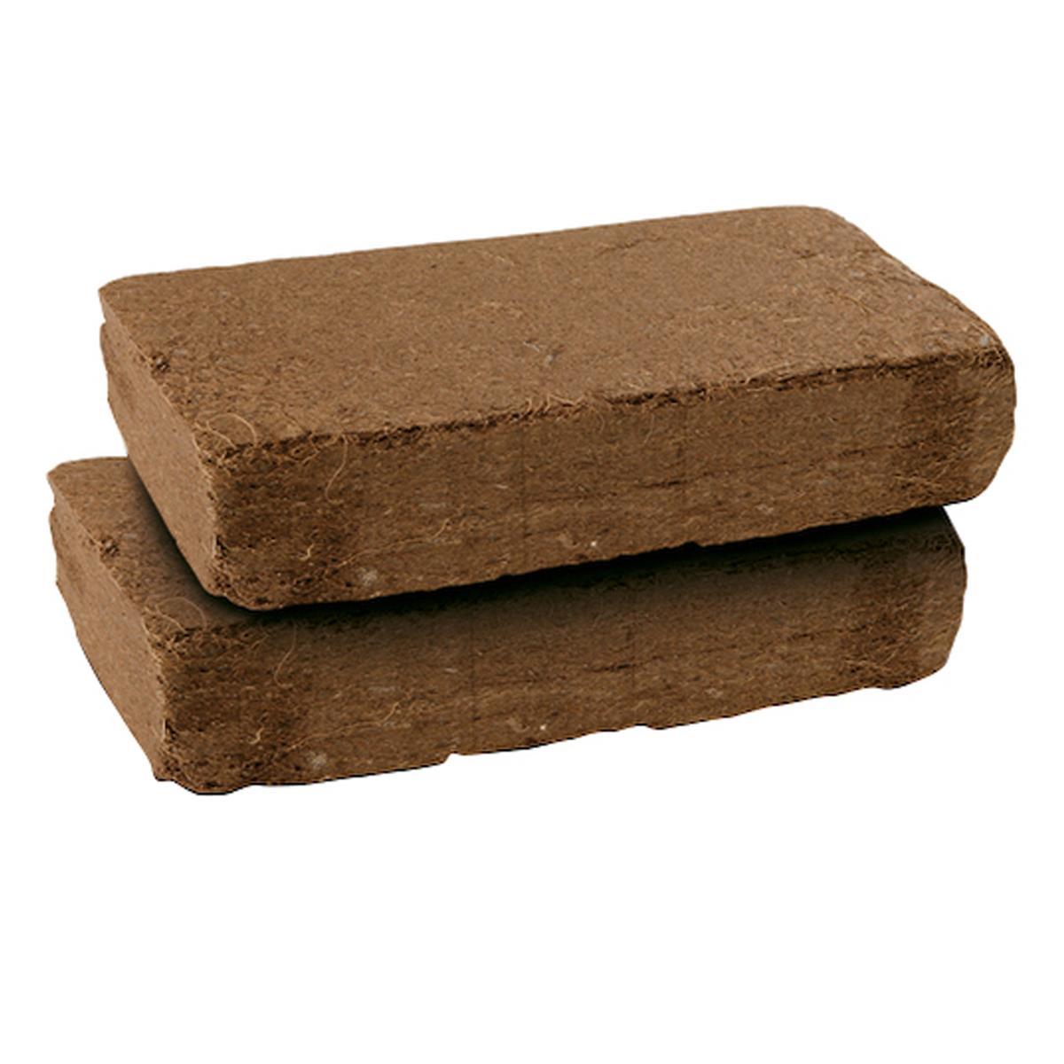 Kokos-Erde Anzuchterde 1,3kg hochergiebig gepresste Kokos-Fasern Terrariumerde