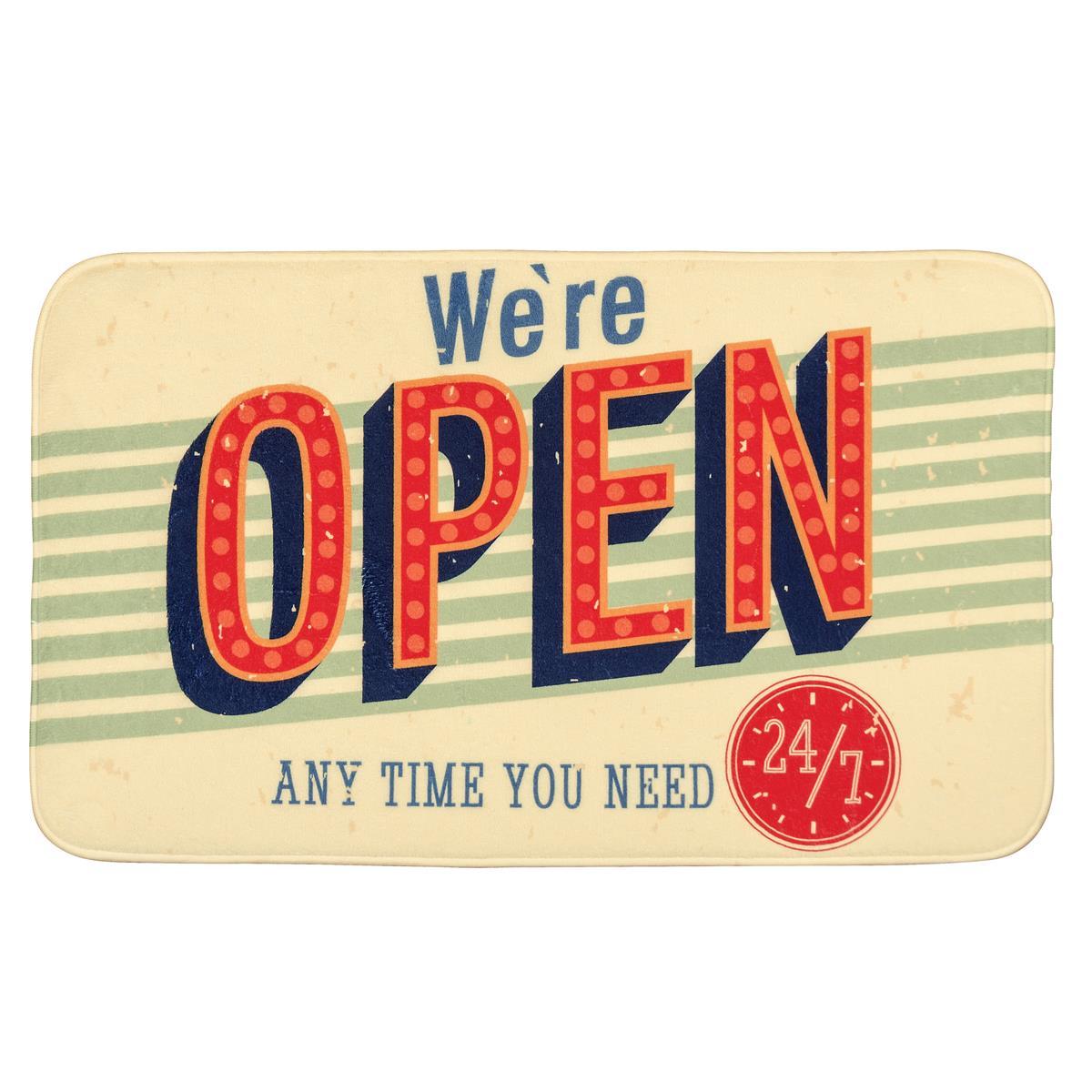 WENKO Badteppich Vintage Open 100 % Polyester 75x45 cm 21581100
