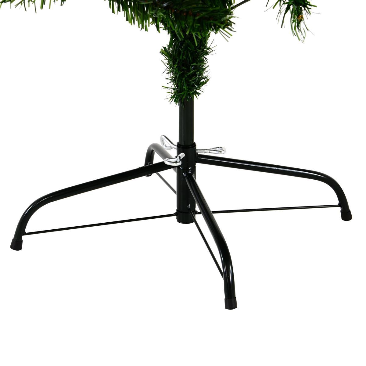 Künstlicher Weihnachtsbaum Outdoor.Künstlicher Weihnachtsbaum Grün 180 Cm Mit Ständer 200 Led