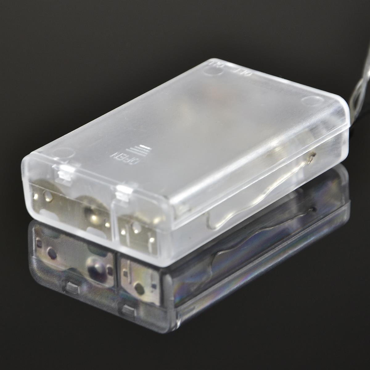 Weihnachtsbeleuchtung Mit Batteriebetrieb.20er Led Lichterkette Blau Batteriebetrieb Innen Batteriebetrieben